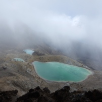 15/01/2016 - Tongariro Alpine Crossing - Emeraulds Lakes